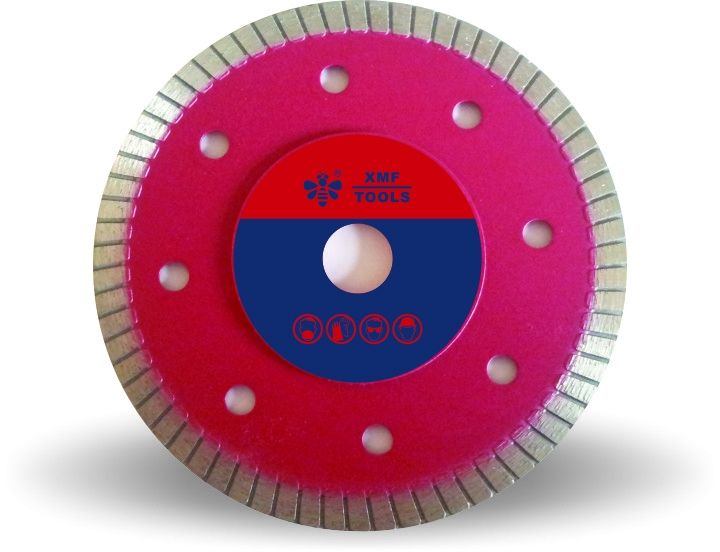 Hot Pressed  Turbo Diamond Cutting Blade , 4 Inch Thin Diamond Cutting Disc